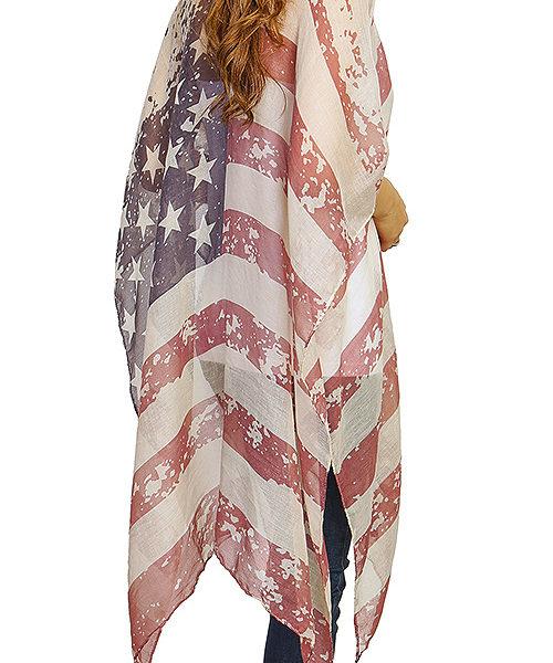 3624665533a American Flag Kimono  American Flag Swag Kimono  Backside American Flag  Kimono