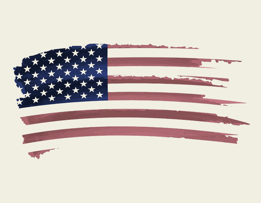 1d824b5a317 All Vintage Inspired American Flag Swag Memorial Sale